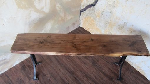 Custom Made Custom Walnut Console Table