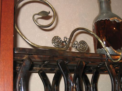 Custom Made Wine Rack - Wall Mount