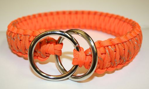 Custom Made Double Cobra Paracord Slip Collar