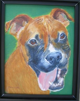 Custom Made Custom Pet Portrait Pooble, A Boxer