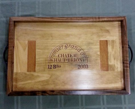 Custom Made Chateau Haut-Brion Serving Tray