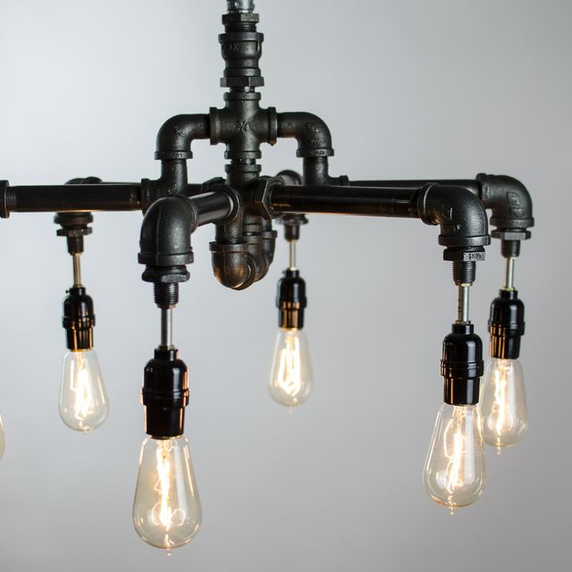 Buy a hand crafted 6 edison bulbs industrial lighting chandelier buy a hand crafted 6 edison bulbs industrial lighting chandelier made to order from chicwatts custommade aloadofball Images