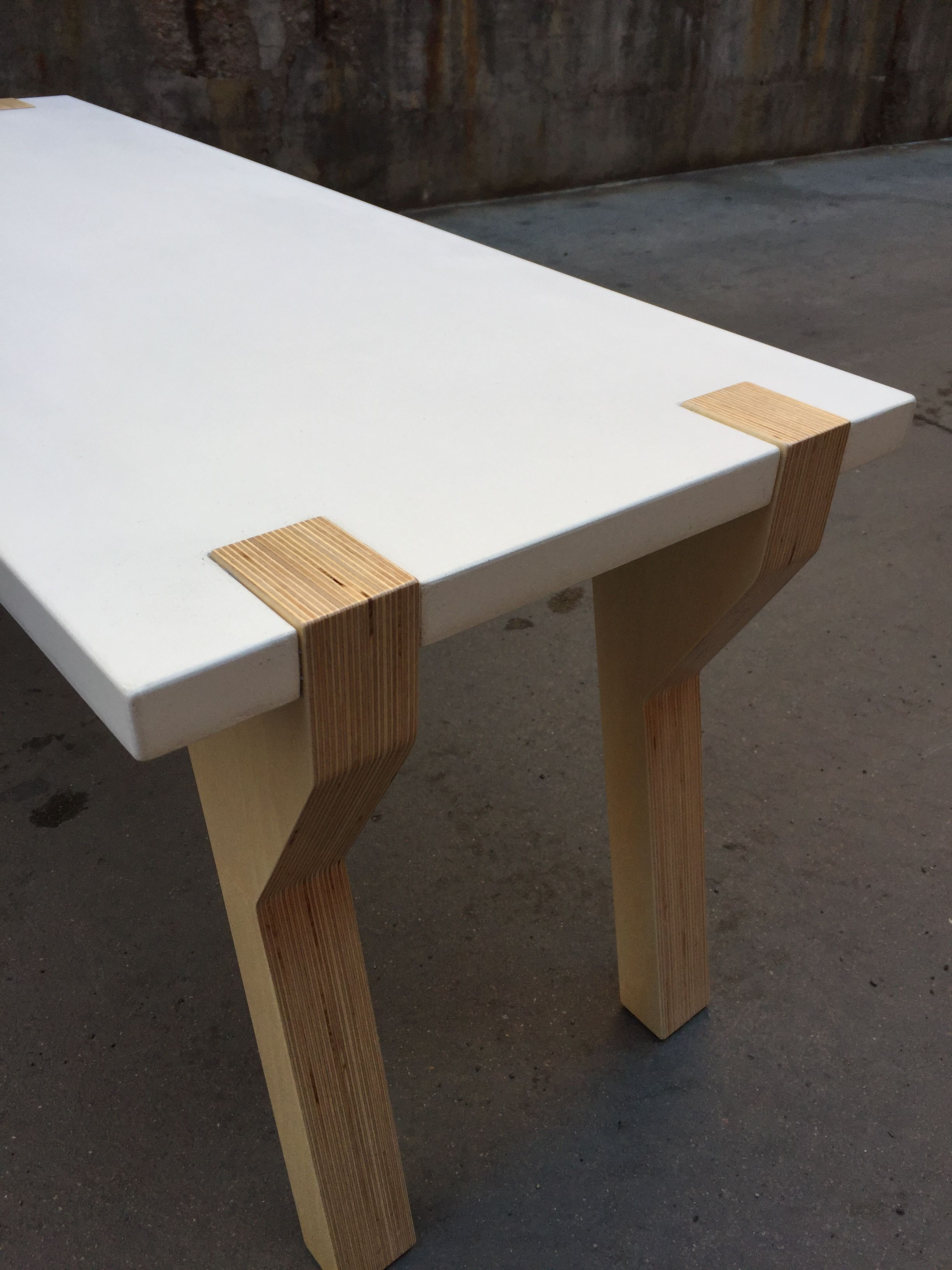 Buy a Hand Crafted Concrete Coffee Table made to order from Metz