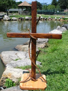 Custom Made Wood Cross