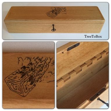 Custom Made Magic The Gathering Card Box
