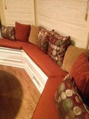 Custom Made Bay Window Seat Cushions