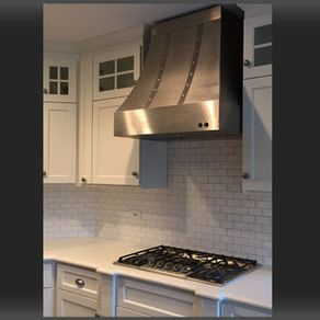 The Cynthia Stainless Steel Range Hood By Nathan Lane