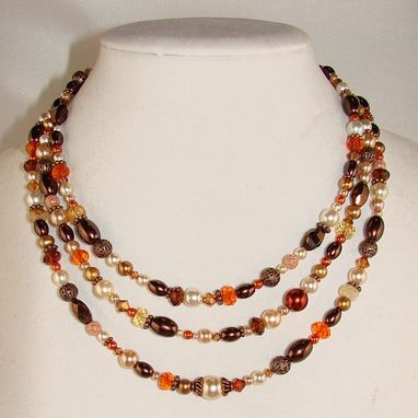 Custom Made Spicy Autumn Necklace