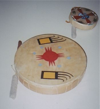 Custom Made Drum: Traditional Hand Drum
