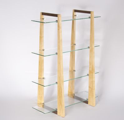 Custom Made Glass Display Shelf
