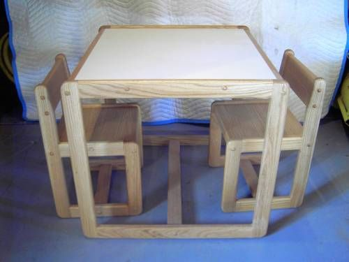 Custom Made Childs Table & Chair Set
