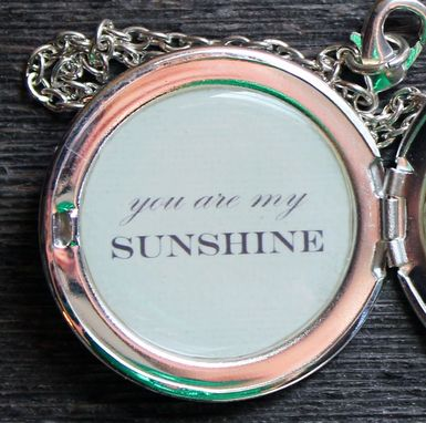 Custom Made Custom Secret Message Locket