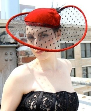 Custom Made Sheer Beret Hat