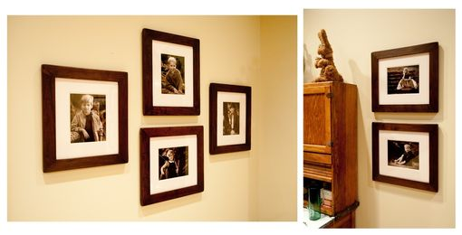 Custom Made Walnut Art/Photo Frames