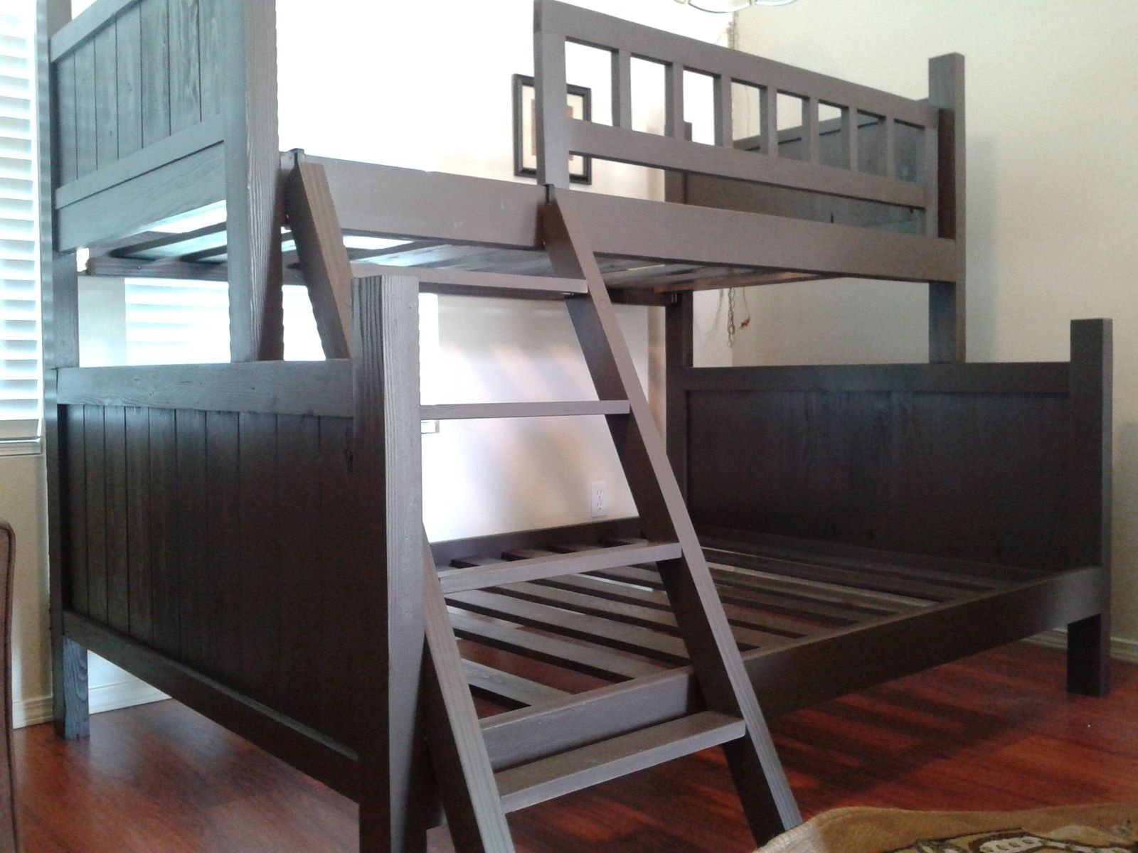Custom Bunk Beds custom bunk bed, pottery barn styletreasure valley woodcrafts