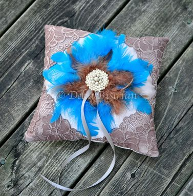 Custom Made Ring Bearer Pillow / Wedding Pillow