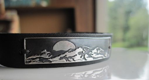 Custom Made Moon And Mountains Bracelet