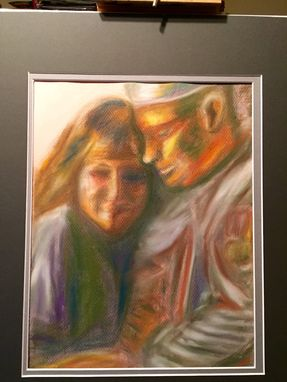 Custom Made Portrait Painting In Pastel, Watercolor, Or Acrylic - Custom