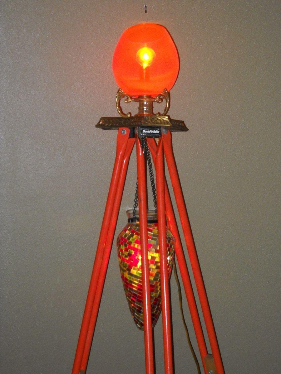 Hand Made Duel Light Tripod Floor Lamps Quot Lewis Amp Clark