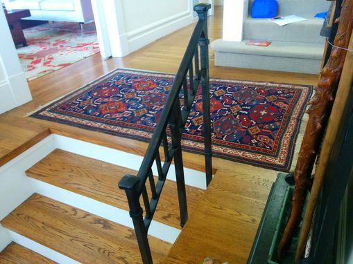 Custom Made Craftsman Style Stair Rail