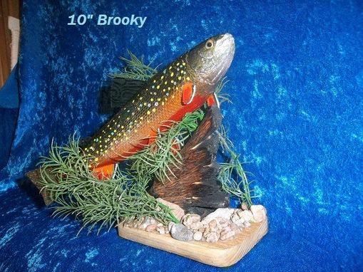 "Custom Made 11"" Brook Trout"