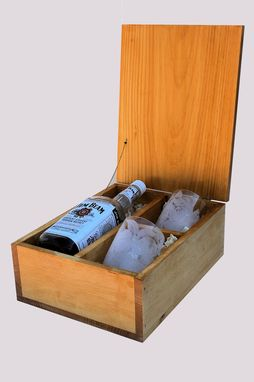 Custom Made Whiskey/Wine Box