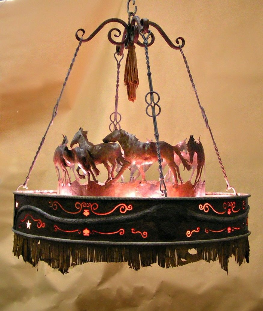 Custom running horse chandelier by creations studio custommade custom made running horse chandelier aloadofball Image collections