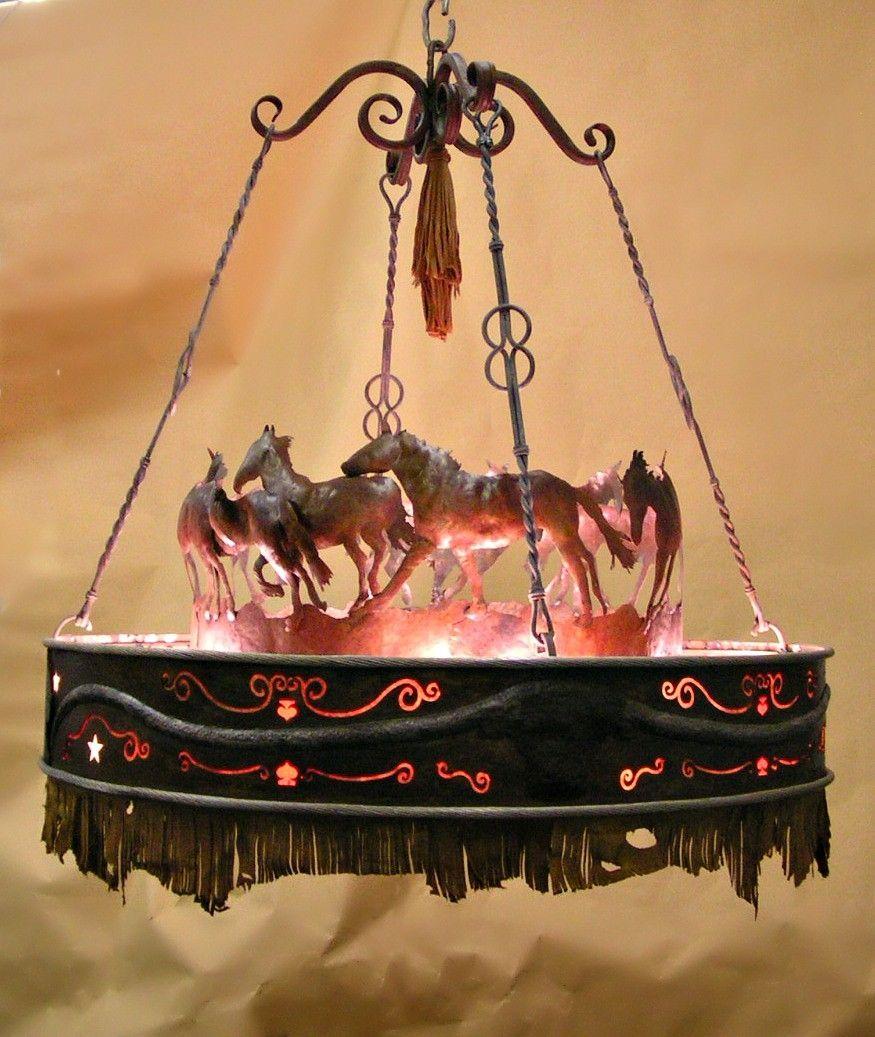 Custom running horse chandelier by creations studio custommade custom made running horse chandelier aloadofball Choice Image
