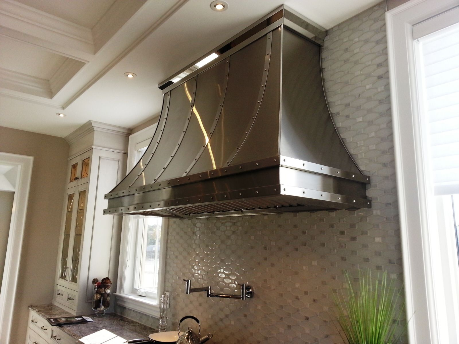 Metal Range Hoods ~ Hand crafted stainless steel range hood s by ck
