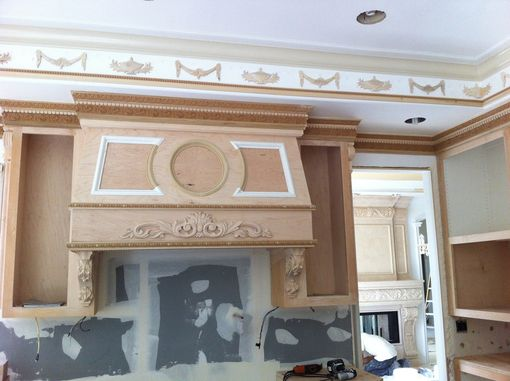 Custom Made Architectural Millwork Carved To Fit The Project