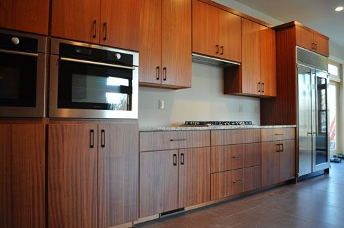 Custom Made Sapele Kitchen By Traditions In Woodworking Inc