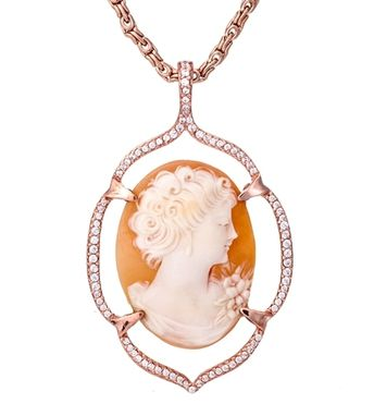Custom Made Cameo Pendant Necklace No.4