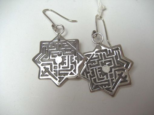 Custom Made Labyrinth Earrings