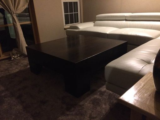 Custom Made Parsons Coffee Table
