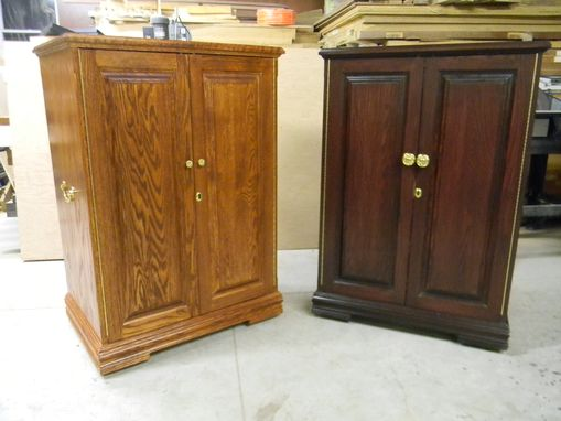 Custom Made Two Jewelry Cabinets
