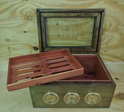 Custom Made Personalized 100 Cigar Humidor