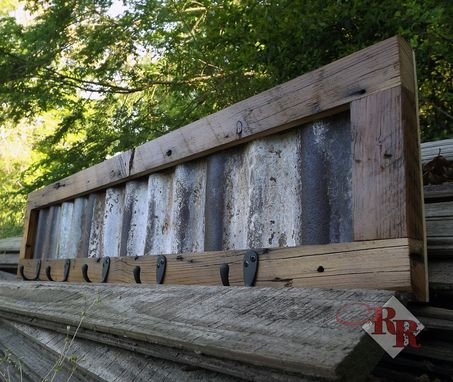 Custom Made Rustic Coat Rack / Towel Rack / Hat Rack