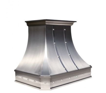 "Custom Made Classic™ - 30"" Custom Stainless Steel Range Hood By World Coppersmith"