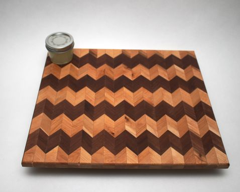 Custom Made Chevron Cutting Board