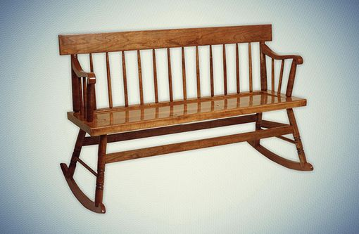 Custom Made Nanny's Bench