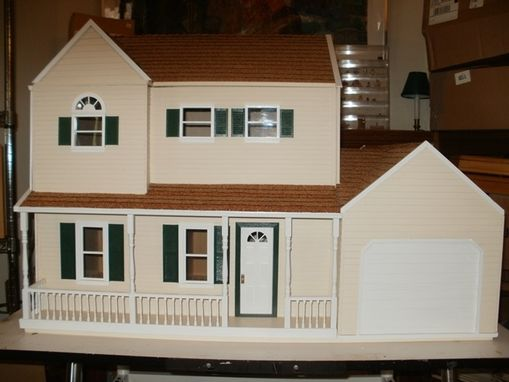 Custom Made Dollhouses Replicated From Real Houses!
