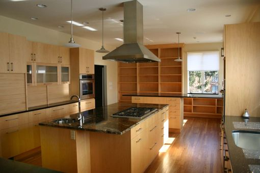 Custom Made Modern Maple Kitchen