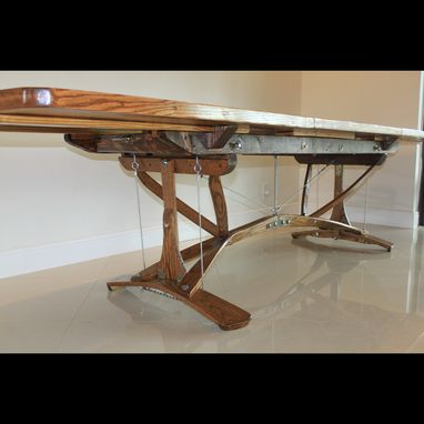 Custom Made Magnificent Extendable Dining Table