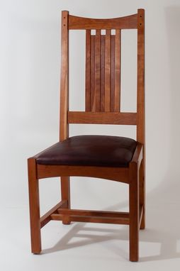 Custom Made Arts And Crafts Dining Chair