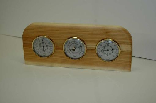 Custom Made Cedar Weather Station