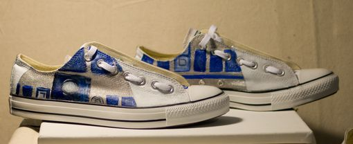 Custom Made Custom Painted Canvas Shoes