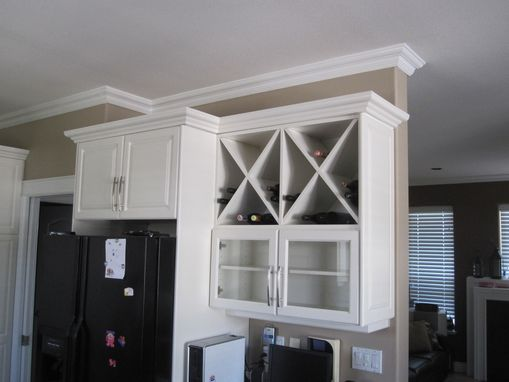 Custom Made White Raised Panel Kitchen