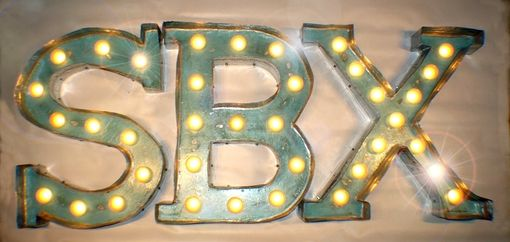 Custom Made 2ftx2ft Each Indoor Vintage Marquee Art Letter Vegas Style Deluxe