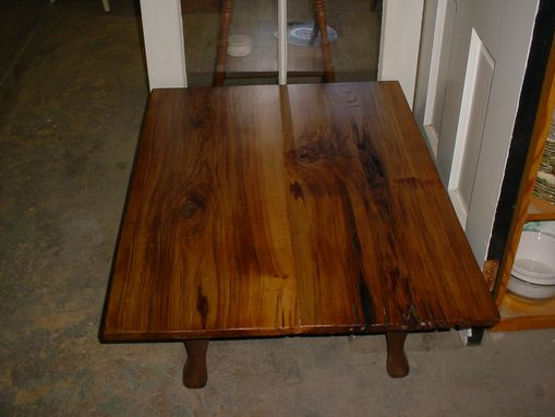 Custom Made Louisiana Sinker Pecky Cypress Coffee Table, Reclaimed Lumber And Metal Legs