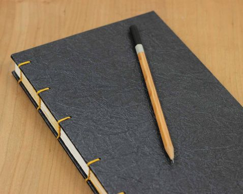 Custom Made Faux Leather Hardcover Notebook Or Sketchbook
